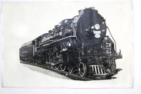 1940s Locomotive Photograph, #3135