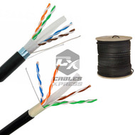 CAT6 OUTDOOR 1000FT Solid Bulk Cable Direct Burial Lan Ethernet