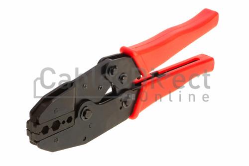 Ratchet Coax Crimping Tool