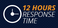 12 Hours Response Time