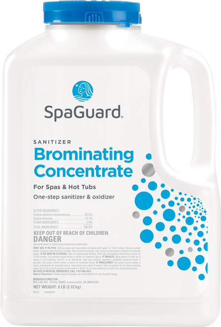 SpaGuard 6 lbs Brominating Concentrate - LOWEST PRICE