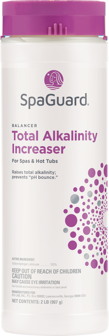 SpaGuard Total Alkalinity Increaser 2 lbs - LOWEST PRICE