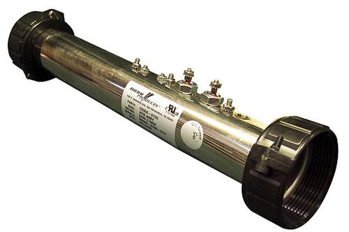 6500-211 Sundance Spas Flow Thru Heater Assembly, 1991-1996