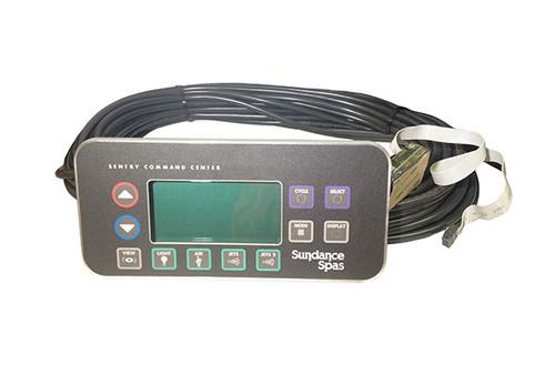 6600-148, Sundance Spa Side Control, 800,850 Series, 2 Pump, For Inground Spas