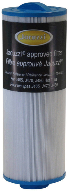"2540-387 Jacuzzi ProClear II Filter Cartridge, 2009-2011, Diameter: 4-3/4"", Length: 12-1/2"""