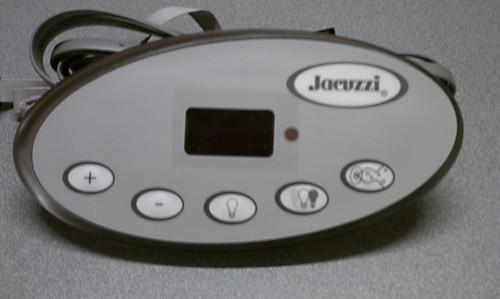 2600-331 Jacuzzi J-300 Control Panel, 1-Pump, 2008+