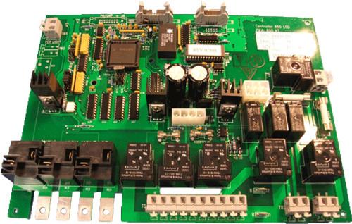 6600-101 Jacuzzi J-300 3-Pump LCD Circuit Board, 2002-2006