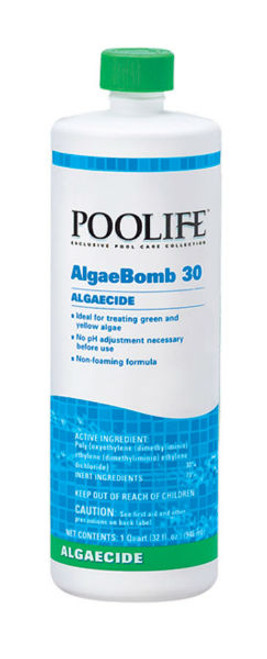 POOLIFE Algae Bomb 30 1 qt bottle