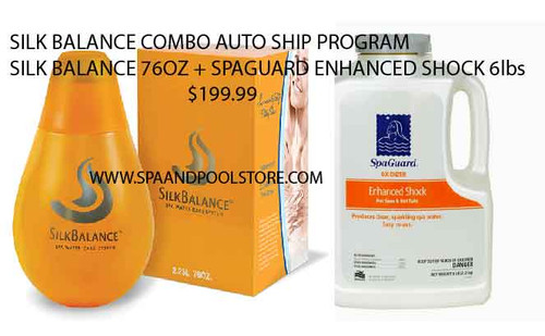 Silk Balance Combo Auto Ship with Spa Guard Enhanced Shock