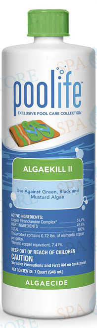 poolife® AlgaeKill II Algaecide 1 Quart