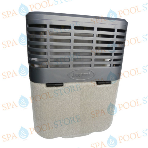 9802-733 J-LX®/J-LXL® Series Skimmer Shield in Silver Pearl Color