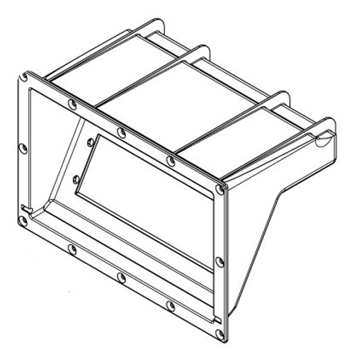 6000-278 Enclosure: Stereo ABS Black 2011