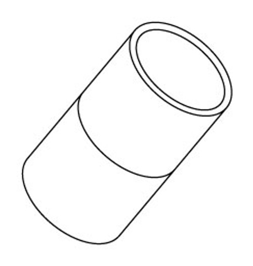 "6540-016 PVC Couplings 0.75"" Slip"
