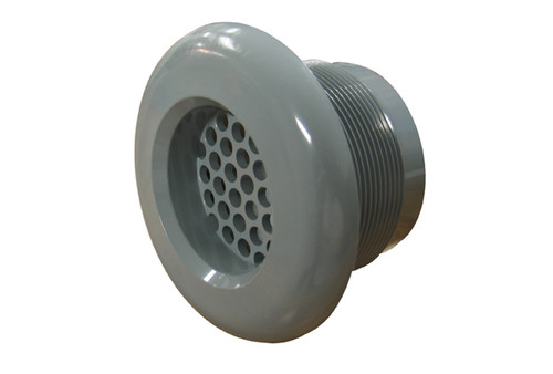 6540-167 Wall Fitting w/ Strainer (Gray)