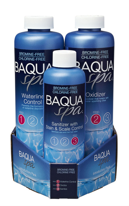 Baqua Spa 3 Part Introductory Pack