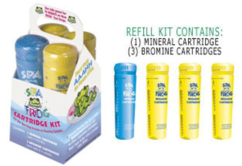 Spa Frog Floating & Inline Systems - Refill Kit - LOWEST PRICING GUARANTEED