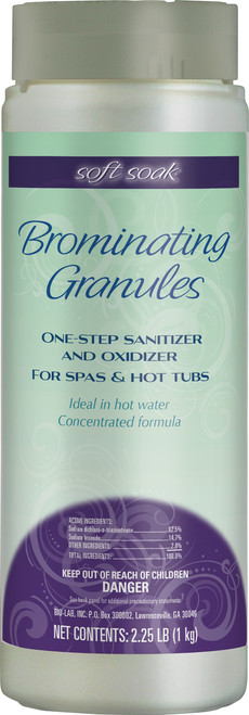 Soft Soak Brominating Granules 2.25lbs - LOWEST PRICE