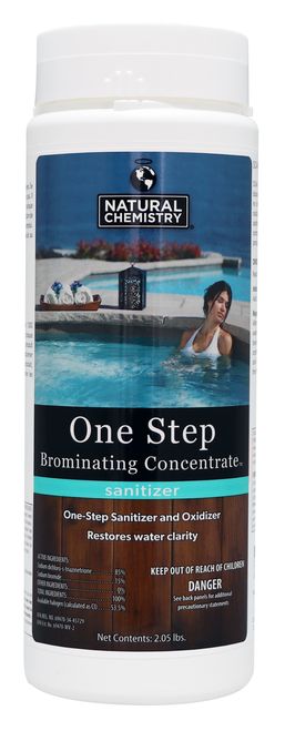 NC Brands One Step Brominating Concentrate, 2.05lb | Formerly SeaKlear SPA Sodium Bromide 1lb
