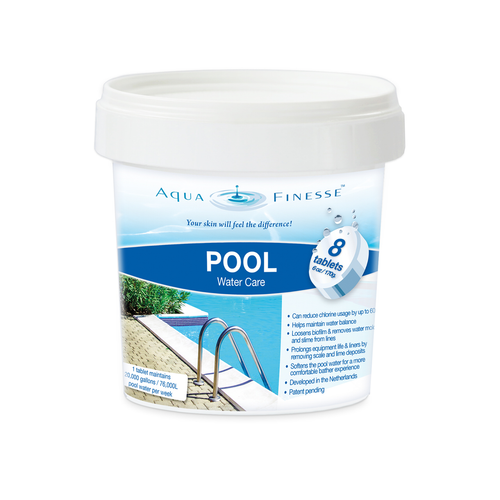 AquaFinesse Pool Tablets Starter 8 Tab Pail