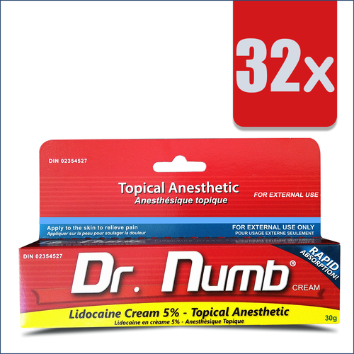32 Tubes of Dr. Numb