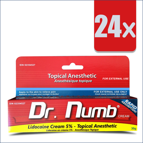 24 Tubes of Dr. Numb