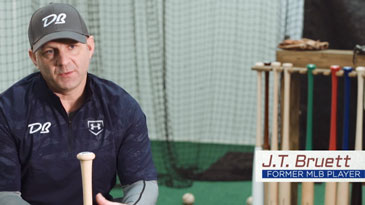 Former Minnesota Twin J.T. Bruett Explains Why He Chooses Delano Bats