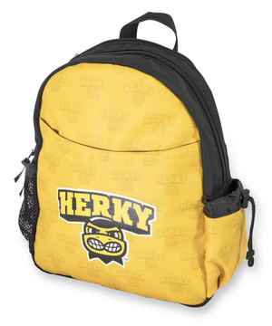 Iowa Hawkeyes Hooded Youth Backpack - Herky