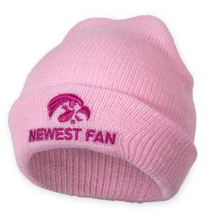 Iowa Hawkeyes Pink Infant Beanie - Ashton