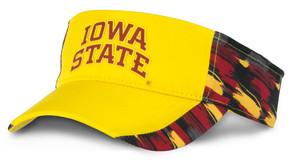 Iowa State Cyclones Cardinal & Gold Visor - Dash