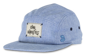 Iowa Hawkeyes Denim Camp Style Hat - Aiden