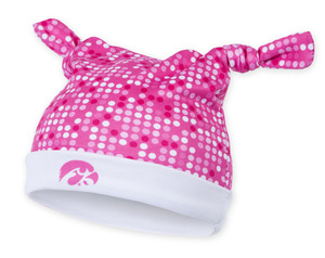 Iowa Hawkeyes Pink Infant Beanie - Nicole