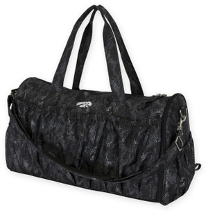 Iowa Hawkeyes Black Yoga Duffel Bag - Isabella