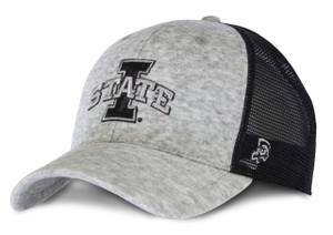 Iowa State Grey Fleece Cap - Walsh