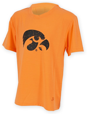 Iowa Hawkeyes Orange Youth T-Shirt - Alexis