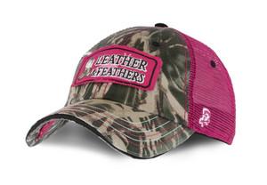 Iowa Hawkeyes ANF Leather & Feathers Camo Cap - Kayla