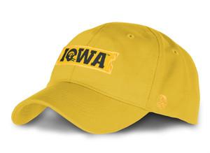 Iowa Hawkeyes Gold Infant Cap - Jamie