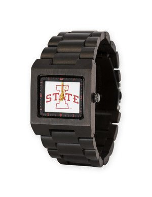 Wooden Watch ISU Men's