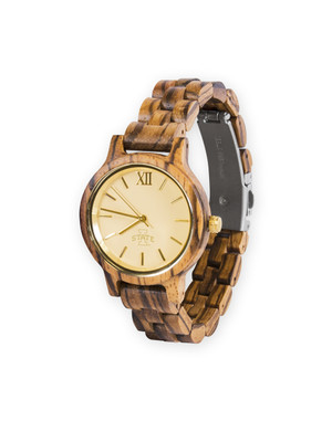 Wooden Watch ISU Women's