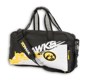 Iowa Hawkeyes Collapsible Duffel Bag - Grayson
