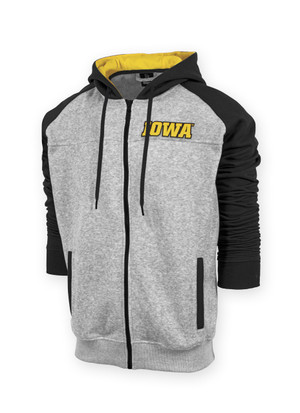 Iowa Hawkeyes Men's Black & Gold Hoodie - Andrew