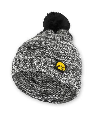 Iowa Hawkeyes Women's Acrylic Knit Beanie - Audrey
