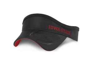 Iowa State Men's Black and Cardinal Visor - Julian