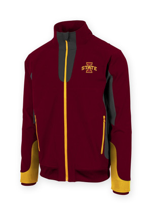 Iowa State Cyclones Cardinal and Gold Jacket - Finn
