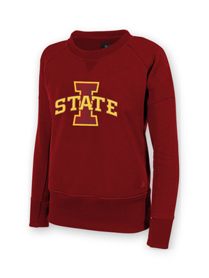 Iowa State Cardinal Women's Sweatshirt - Stephanie