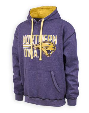 UNI Panthers Men's Purple & Gold Hoodie - Grady