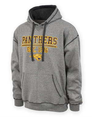 UNI Panthers Men's Grey Hoodie - Grady