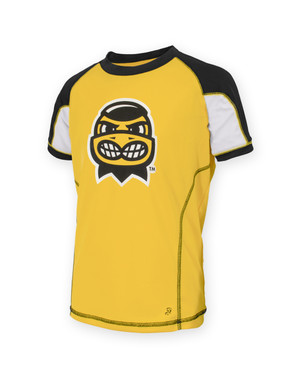 Iowa Hawkeyes Black & Gold Youth Herky Shirt - Blair