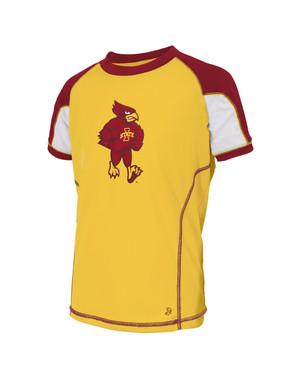 Iowa State Cardinal & Gold Youth Shirt - Blair