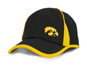Iowa Hawkeyes Black & Gold Microfiber Infant Cap - Jules