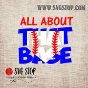 SVG Stop's All About That Base Knockout Design SVG, DXF, JPG, PNG, and EPS format cut file clipartfor Silhouette, Cricut, Brother Scan n cut, andvarious other cutting machines.
